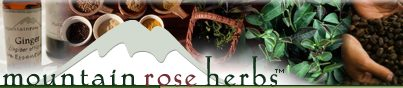 Mountain Rose Herbs. A herbs, health and harmony c